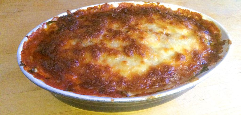 Rezeptbild zu Zucchini Hack Lasagne als Abnehmrezept und zum Fettabbau