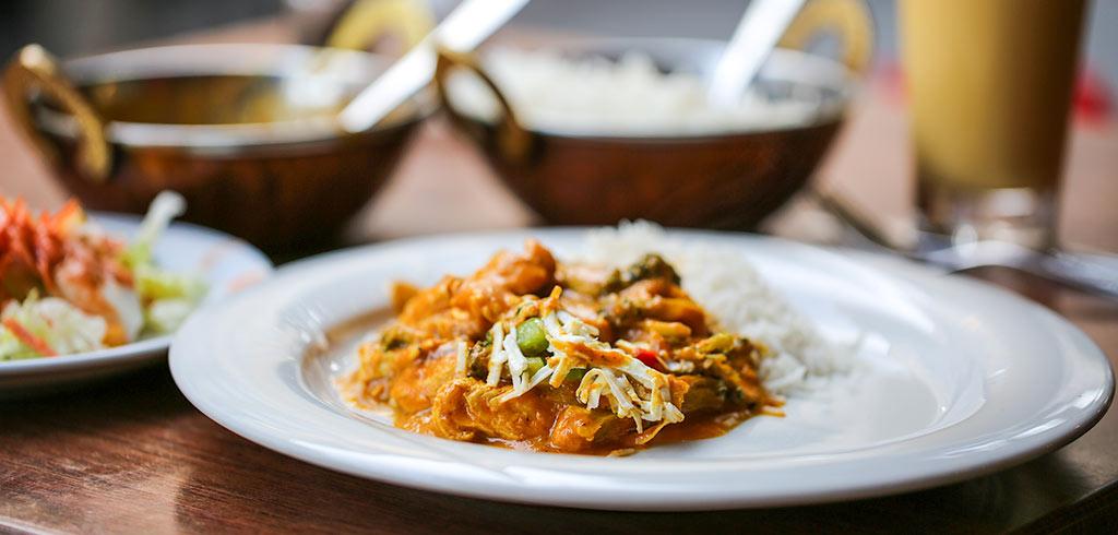 Rezeptbild zu Indisches Chicken-Brokkoli als Low Carb Gericht als Abnehmrezept und zum Fettabbau