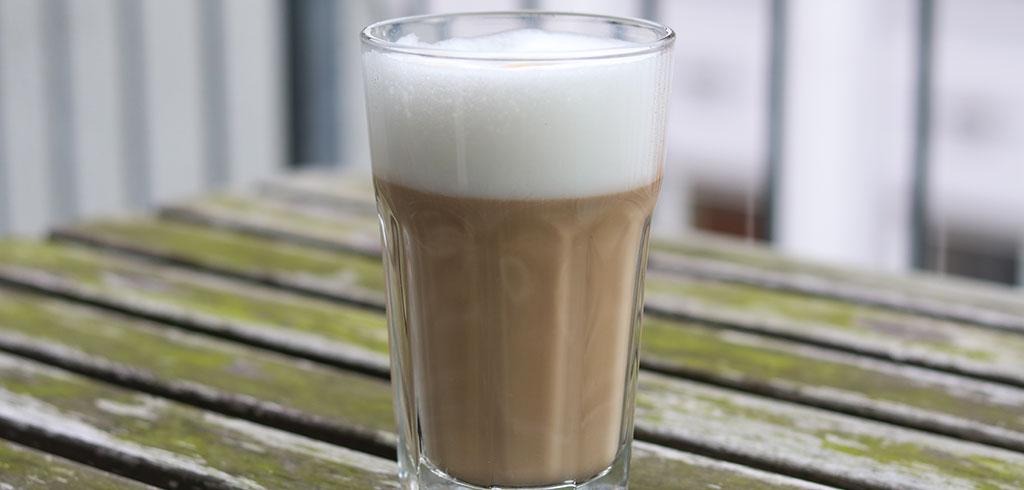 Rezeptbild zu Latte Macchiato als Abnehmrezept und zum Fettabbau