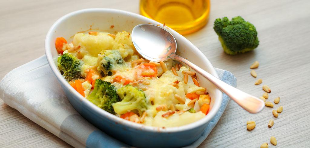 Rezeptbild für Gemüseauflauf mit Feta