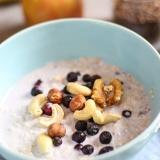Vorschaubild für Frühstücksmüsli eatSimply mit Joghurt, Chia- & Leinsamen