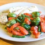 Vorschaubild für Hähnchenfilet mit Gemüse als Turbogericht