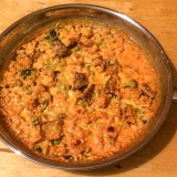 Vorschaubild für Tofu-Pfanne mit Curry-Tomatensoße