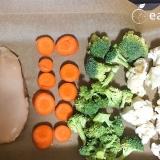 Vorschaubild für Low Carb Ofengemüse mit Hähnchenfilet
