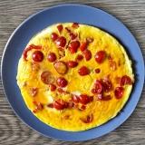 Vorschaubild für Omelette mit Schinken und Tomate