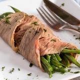 Vorschaubild für Grüne Bohnen mit Roastbeef