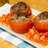 Vorschaubild für Gefüllte Tomaten mit Hackfleisch
