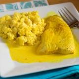 Vorschaubild für Curry-Hühnchen mit Low-Carb Couscous