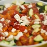 Vorschaubild für Zucchini Tomaten Paprika Fetapfanne
