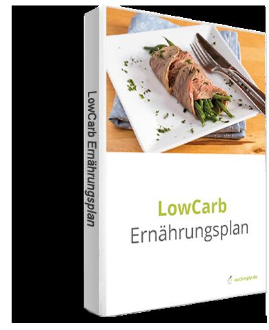Ernährungsplan Low Carb in der App